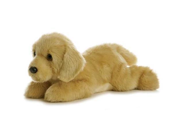 Aurora 12'' Plush GOLDIE Flopsie Golden Lab Dog