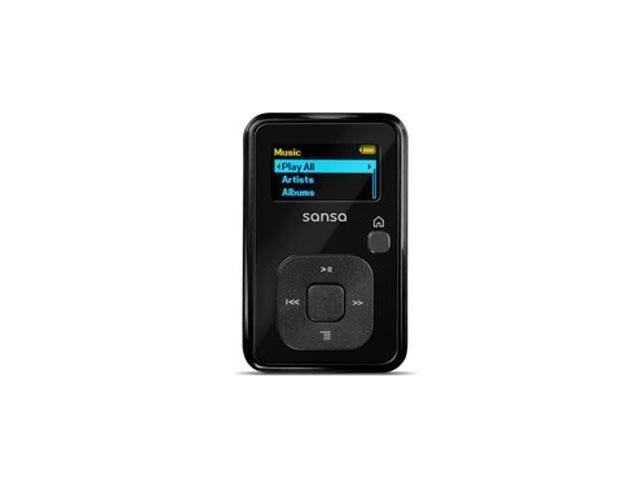 "SanDisk Sansa Clip+ 1.0"" Black 4GB MP3 Player SDMX18R-004GK-A57"
