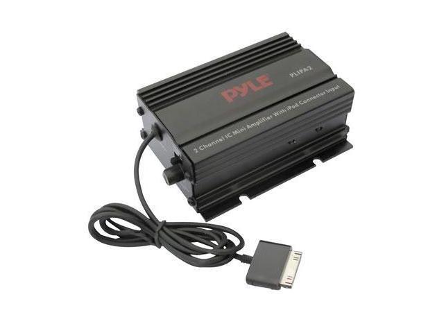 Pyle PLIPA2 Mini 2x15w stereo power ampl