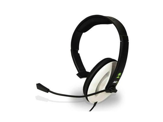 Turtle Beach Ear Force XC1 Headset - Mono - Sub-mini phone - Wired - 32 Ohm - 20 Hz - 20 kHz - Over-the-head - Monaural - Ear-cup