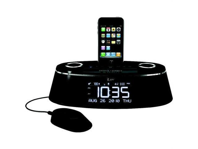 iLuv Dual Alarm Clock with iPhone/iPod Dock iMM178