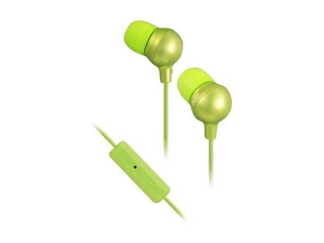 JVC Green 3.5mm In-Ear Headset w/ One Button Remote HA-FR36-G