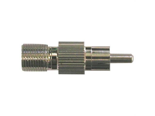 EAGLE ASPEN 500288 F-Female to RCA-Male Connectors, 100 pk