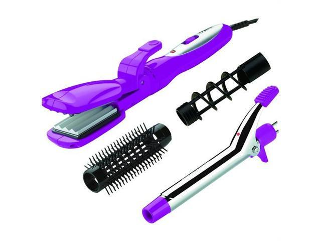 Conair CB600TCS Special Styles Curling Iron-Hair Straightener Combo