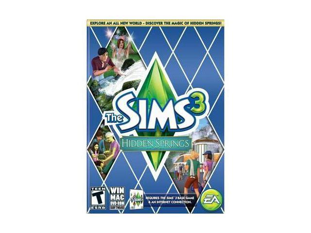Electronic Arts 19797 The sims 3 hidden springs pc