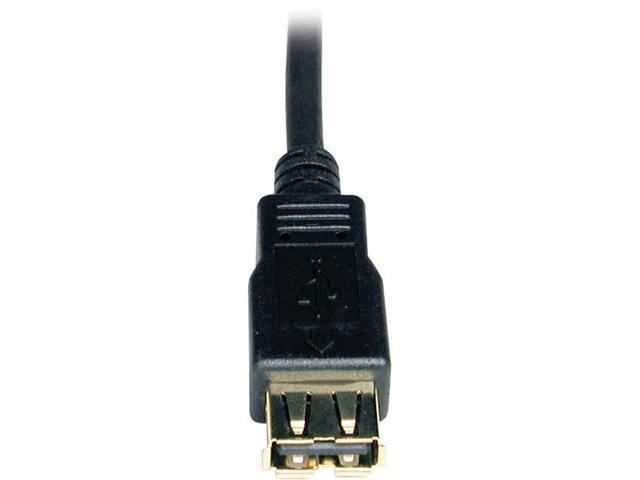 Tripp-Lite U024-010 Tripp-lite 10' usb 2 0 certified a-a extension cable
