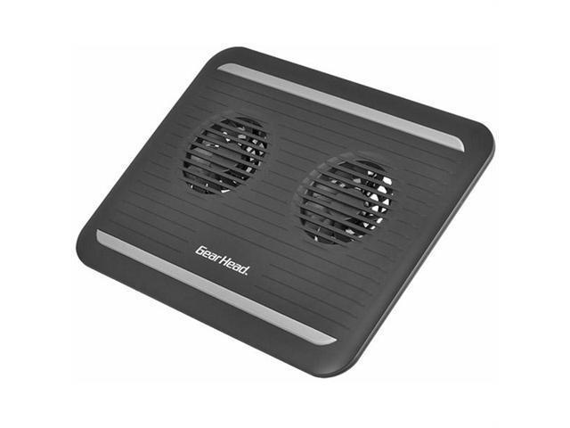 Gear Head CF3300BLK Gear head 17 black dual-cool notebook cooling pad