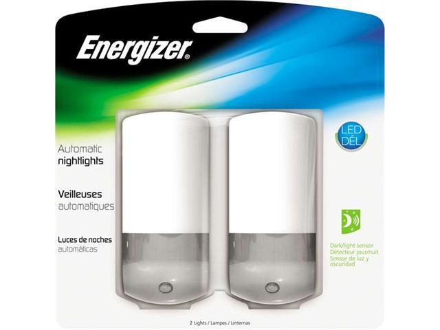 Energizer ENLPLFPA2 Energizer design auto nightlight 2-packauto on/off sensor on
