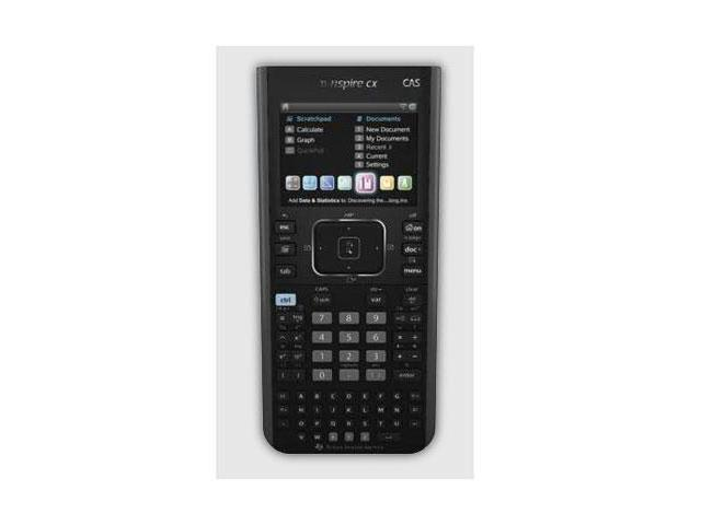 Texas Instruments NSPIRECXCAS TI-Nspire CX CAS Handheld Graphing Calculator