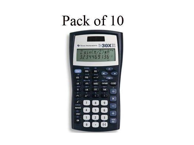 Texas Instruments TI-30X IIS Scientific Calculator - LCD - Battery/Solar Powered