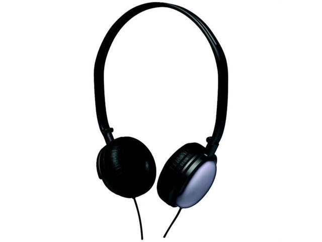 COBY CV135BLK Coby cv135blk super-bass headphones (black)