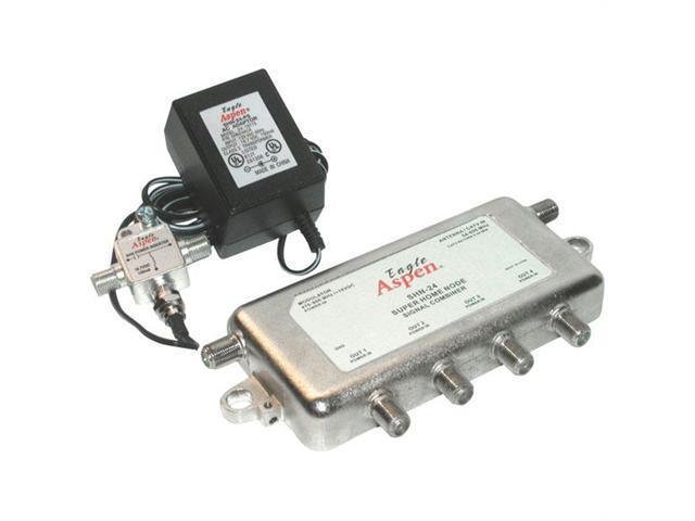 EAGLE ASPEN 500183 Signal Combiner/Amplified 4-Way Splitter