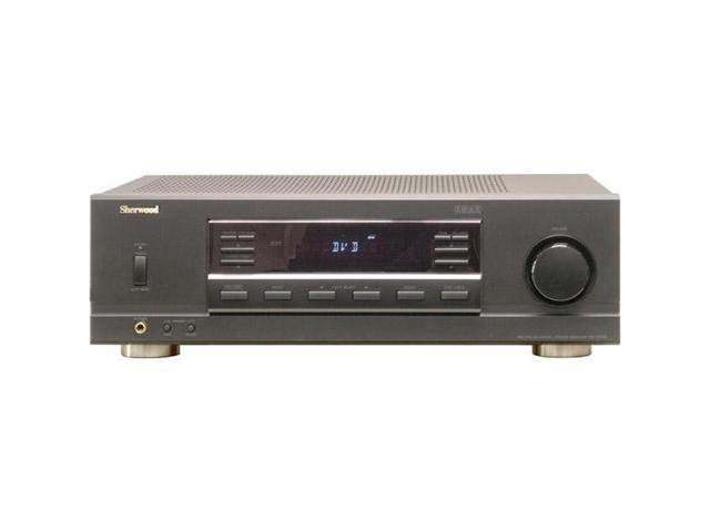 Sherwood RX5502 100 Watt RMS Dual-Zone Stereo Receiver - Black