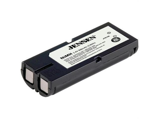 JENSEN  JTB105  Panasonic(r) HHR-P105 Replacement Battery