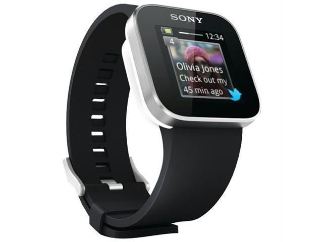 Sony MN2SW Black SmartWatch