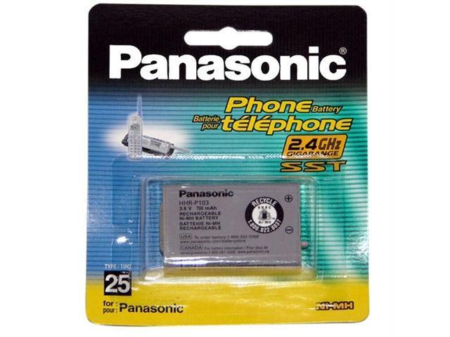 Panasonic HHR-P103A/1B Panasonic replacement battery for kx-tg2352w phone system