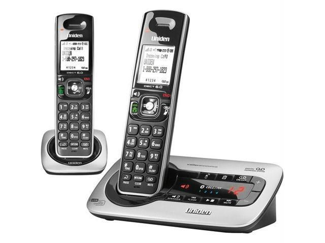 D3580 Series Digital Answering System with Bluetooth? CELLLiNK? with 1 Additional Handset