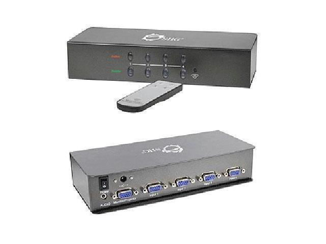 SIIG Accessory CE-VG0H11-S1 Switches between two VGA and Audio Brown Box