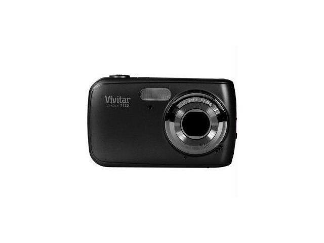 Vivitar V7122-BLK Vivitar 7 1mp digital camera with 1 8
