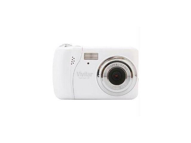 "Vivitar V17-WHT Vivitar vivicam i7 7 1mp digital camera with 1 8"" preview screen-white"