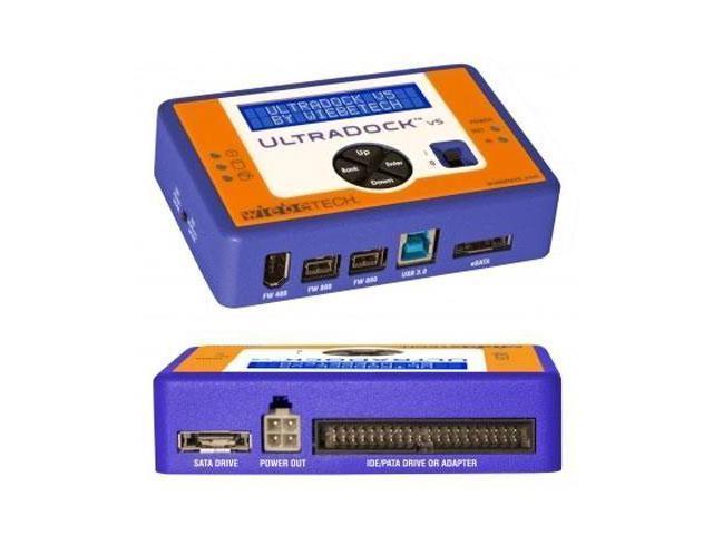 WiebeTech UltraDock v5 Drive Dock External - USB 3.0, eSATA, FireWire/i.LINK 400, FireWire/i.LINK 800