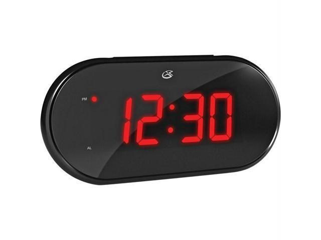 GPX C232B Gpx dual alarm clock am/fm radio