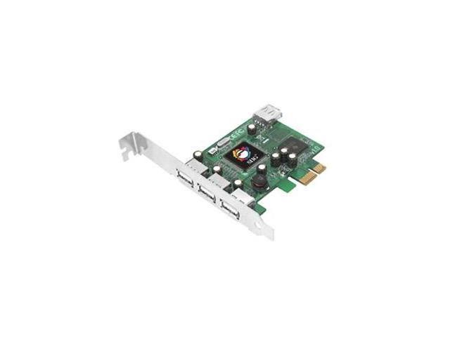 SIIG DP Hi-Speed USB 4-Port PCIe - 1 x 4-pin Type A Female USB USB Internal - Internal - Retail