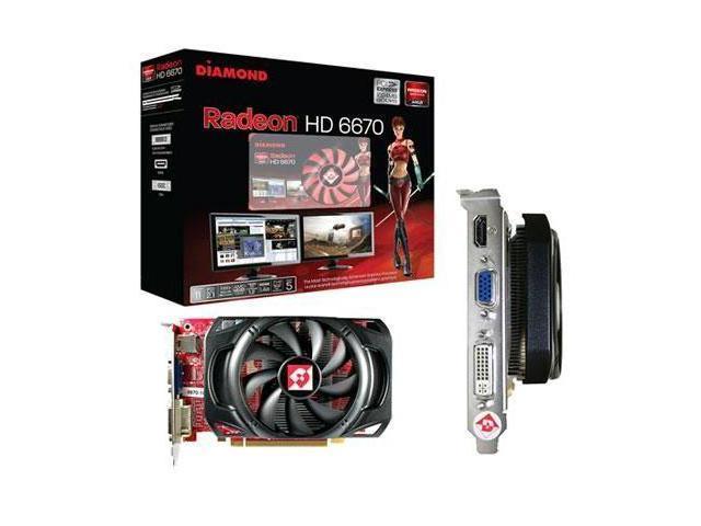 Diamond Multimedia 6670PE51GSB Radeon hd6670 1gb