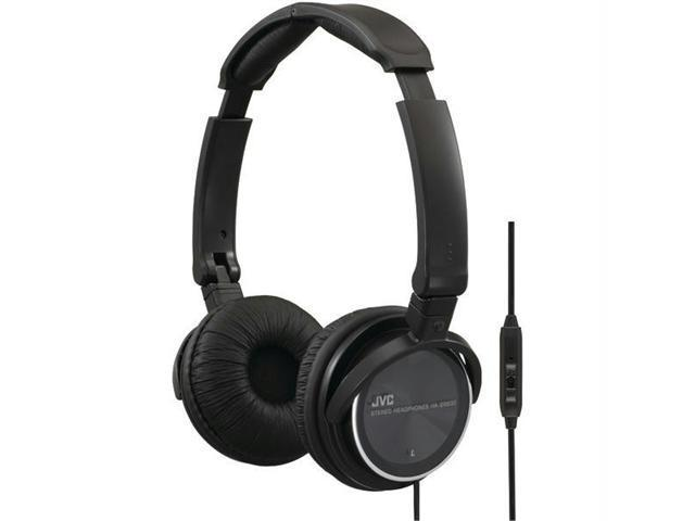 JVC HASR500B On-ear Headband Headphones with Remote & Microphone [Black]