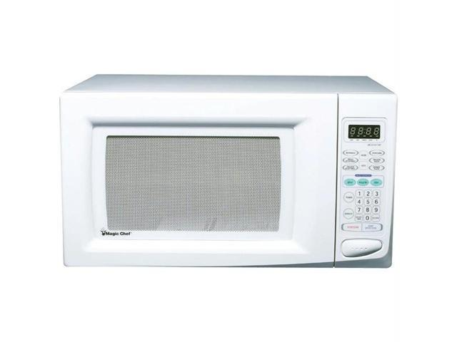 MAGIC CHEF MCD1611W 1.6 Cubic-ft, 1,100-Watt Microwave with Digital Touch (White)