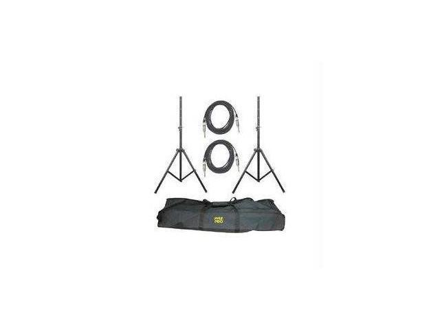 Pro-Audio Speaker Stand and Cable Kit