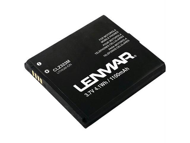 Lenmar Black 1100 mAh Replacement Battery for Motorola Droid A855 Mobile Phones CLZ323M