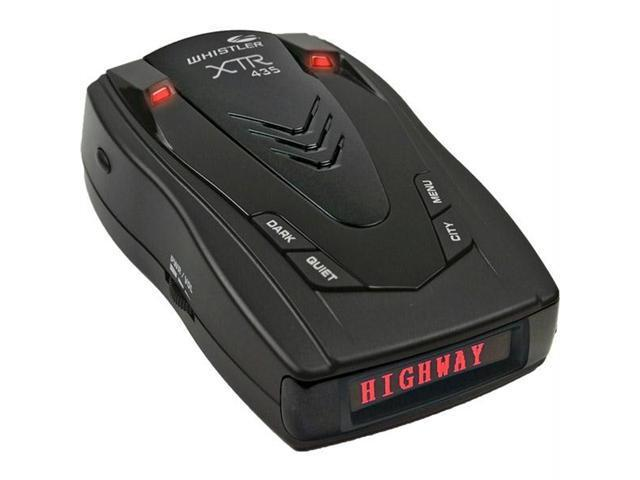 Whistler XTR-435 Whistler laser/radar detector with red oled display