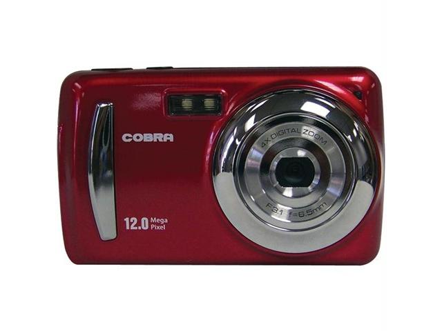 Cobra Digital DCA1205R Cobra digital dca1205r 12 megapixel digital camera