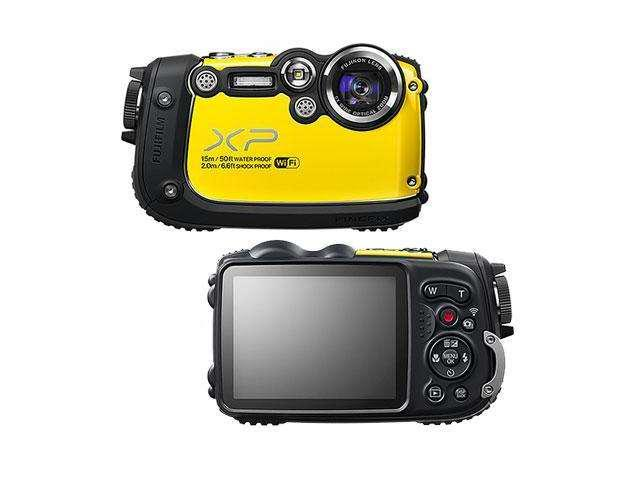 "FUJIFILM FinePix XP200 16317405 Yellow 16.4 MP 3.0"" 920K Digital Camera"
