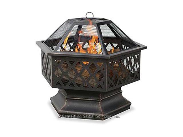 Blue Rhino Wad1377sp Wood Fireplace Outdoor Freestanding