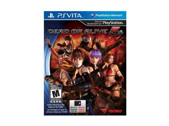 Dead or Alive 5 Plus PS Vita
