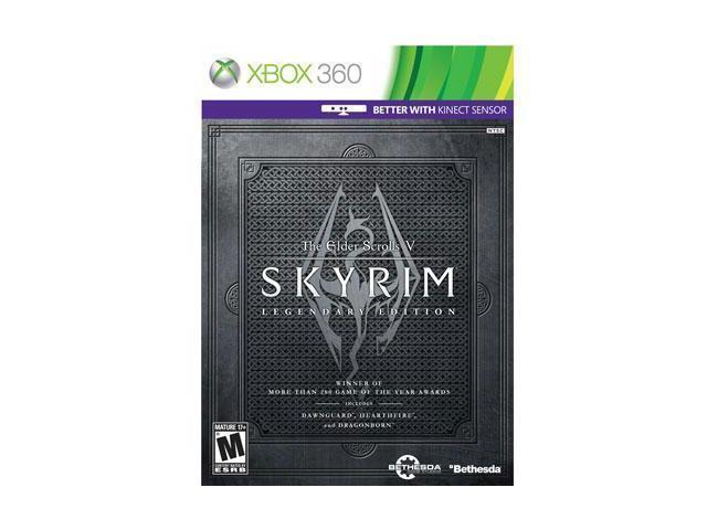 Skyrim Legendary Ed  X360