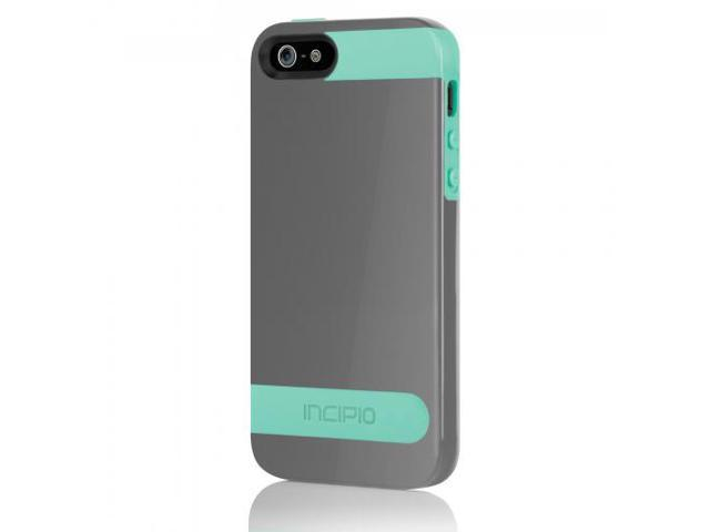 Incipio [OVRMLD] Series Case for Apple iPhone 5 (Gray/Turquoise)
