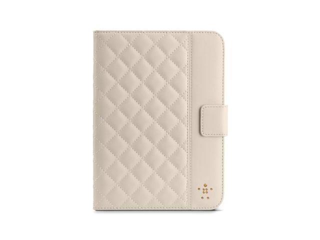 Belkin iPad Mini Quilted Tab Folio - Beige Model F7N007TTC01