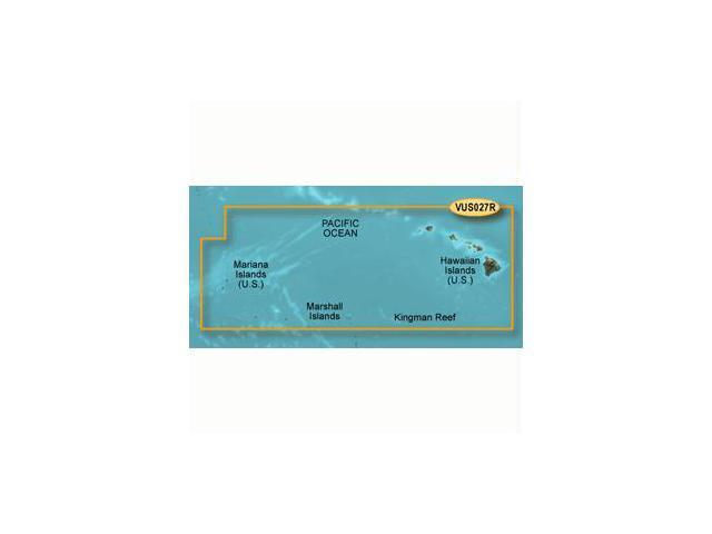 Garmin VUS027R - Hawaiian Is. - Mariana Is. - SD Card