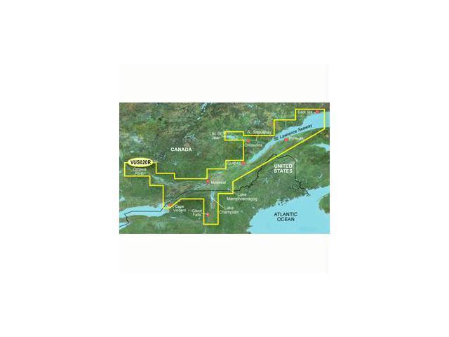 Garmin BlueChart g2 Vision St. Lawrence Seaway Digital Map