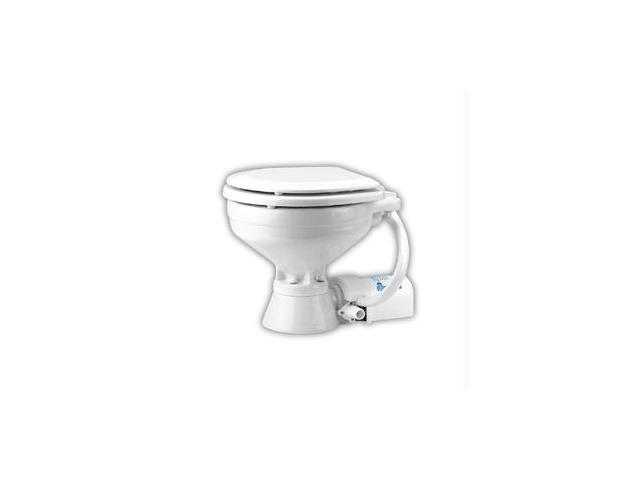 Jabsco Household Size Electric Marine Toilet Push Button Operation