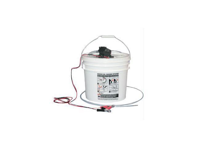 Jabsco Diy Oil Change System W/ Pump And 3.5 Gallon Bucket