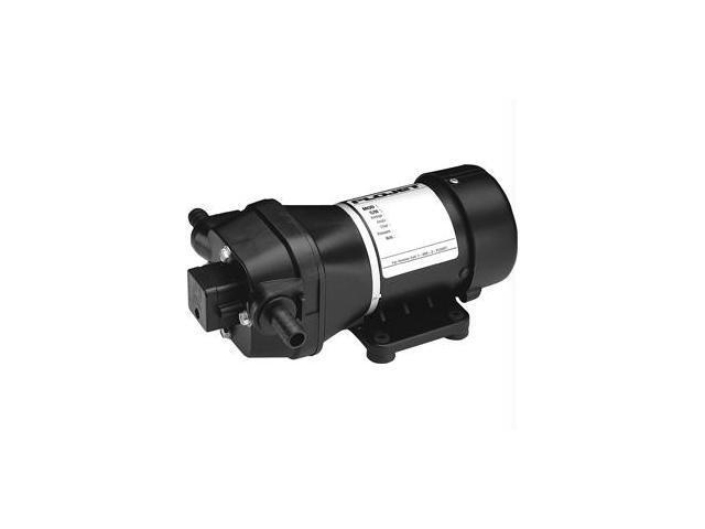 Flojet 12V 40 Psi Deck Wash  Pump W/ Nozzle  3.5 Gpm