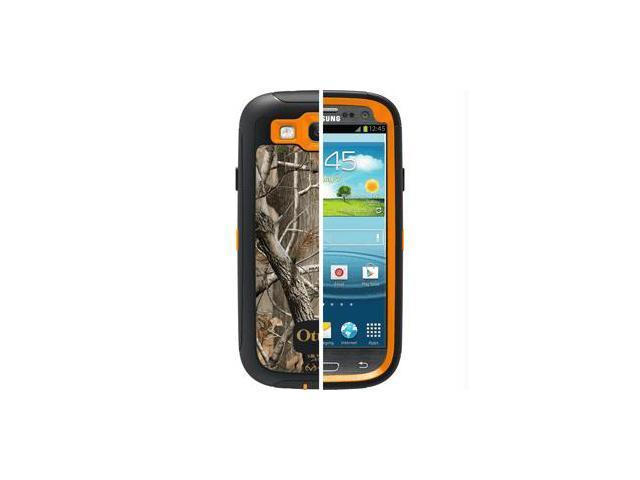 OtterBox Defender AP Blaze Orange/Black Camo All Purpose Case For Samsung Galaxy S III 77-21384