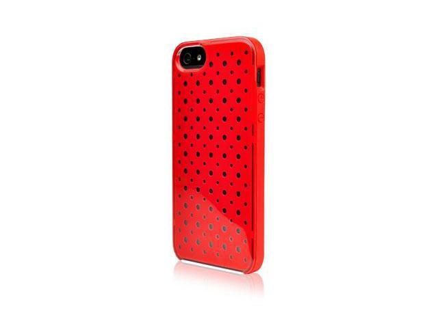 Forge iPhone 5 Clear Red