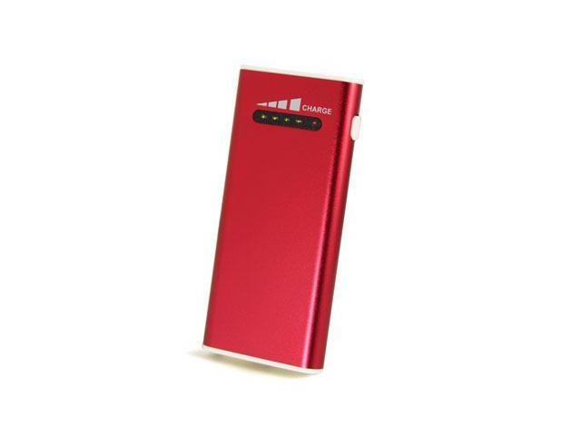 Concept Green Red 2000 mAh Portable Battery CG2000R