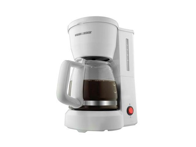 Black & Decker DCM600W Brewer - 5 Cup(s) - White