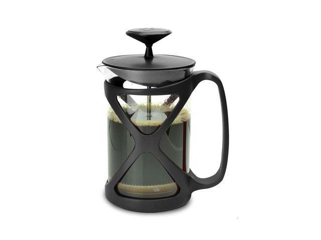 Primula Cafe Color Tempo Press 6 Cup - Black - 1.50 quart Coffee Press - Glass Body, Plastic, Stainless Steel Filter - Coffee ...